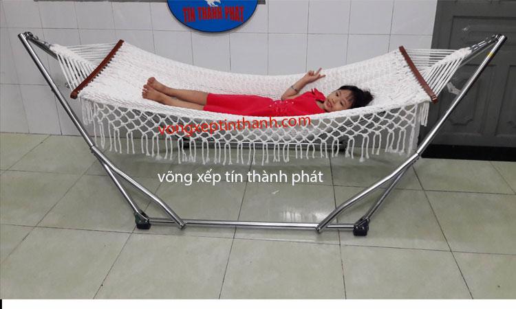 Võng xếp crom Kiên Giang