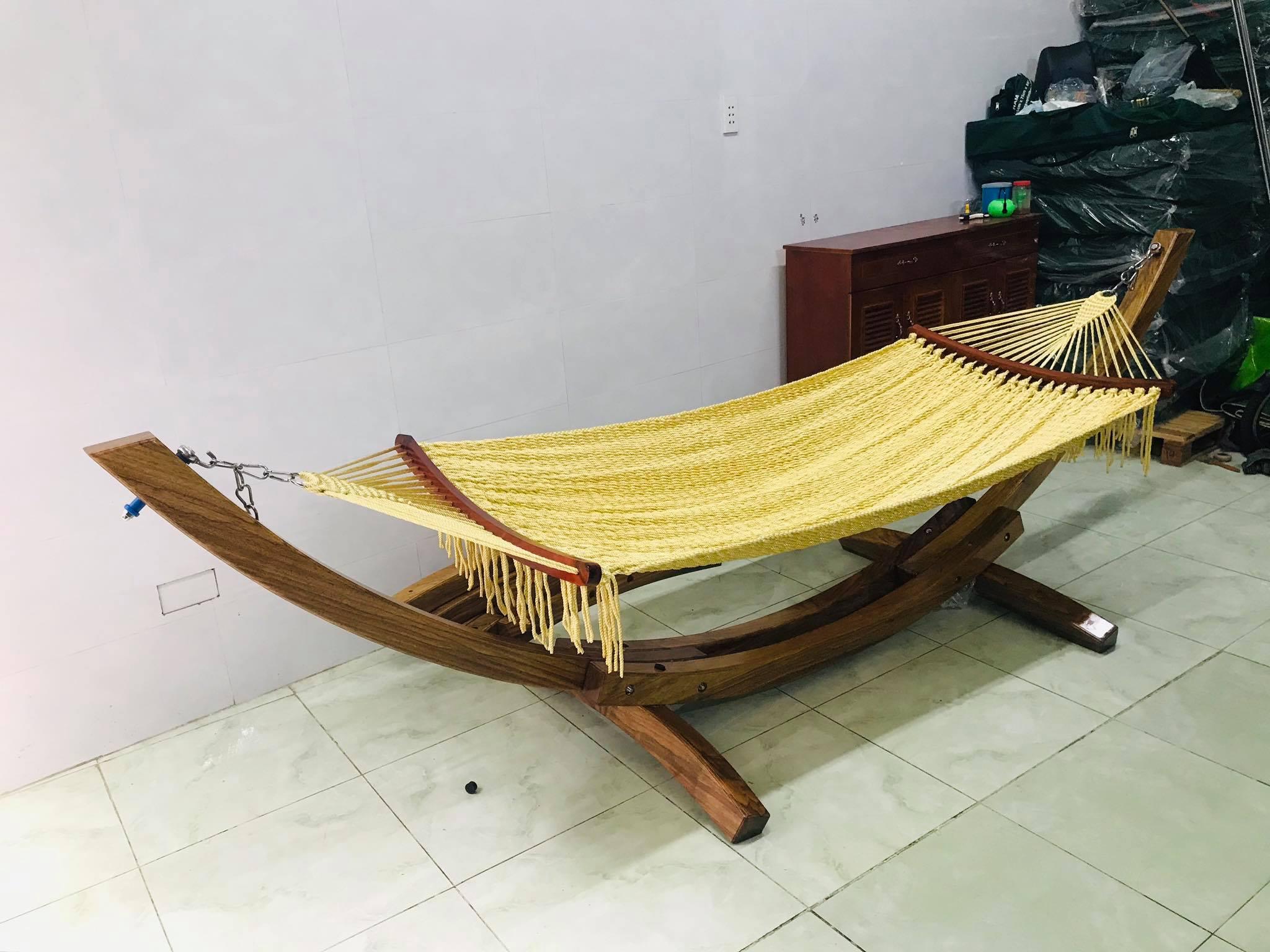 Võng gỗ huyện Củ Chi - Bí mật giấc ngủ bình yên cho mọi nhà