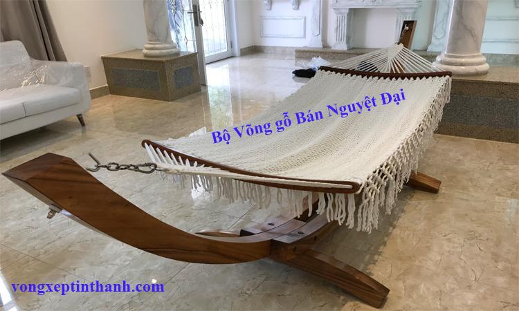 Võng gỗ huyện Nhà Bè – sản phẩm mang tầm vóc Việt